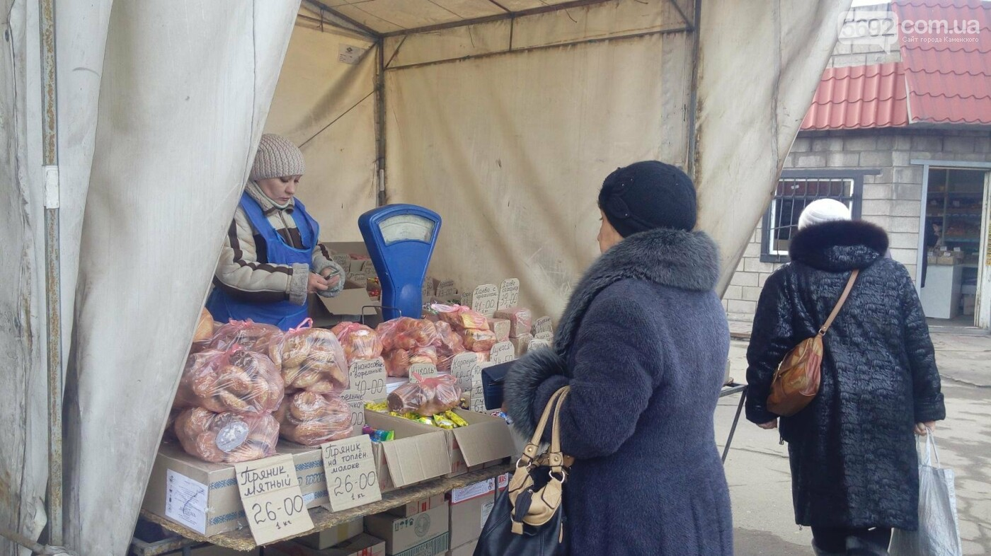 Рыночная романтика или Большая закупка: что покупают каменчане перед праздниками, фото-12