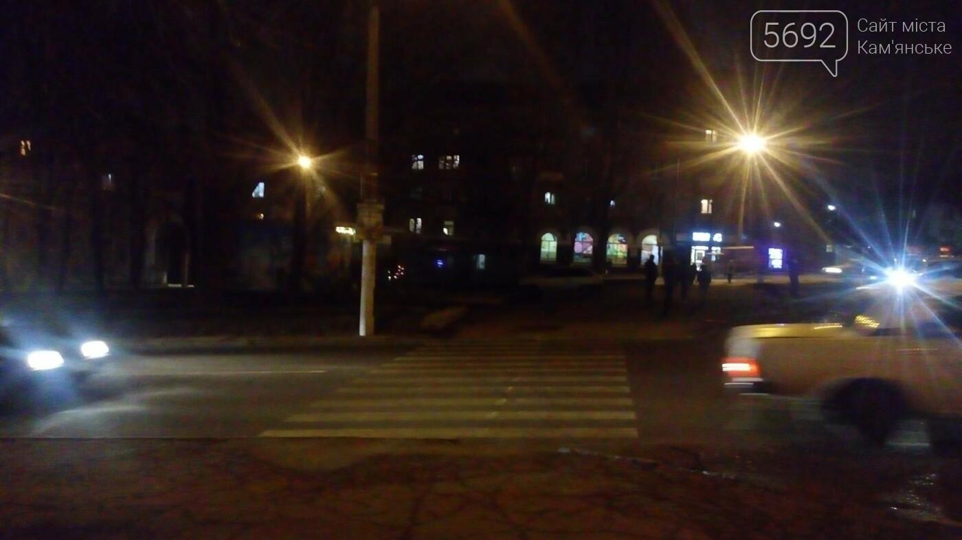 ДТП в Каменском: на «зебре» сбили женщину, фото-1
