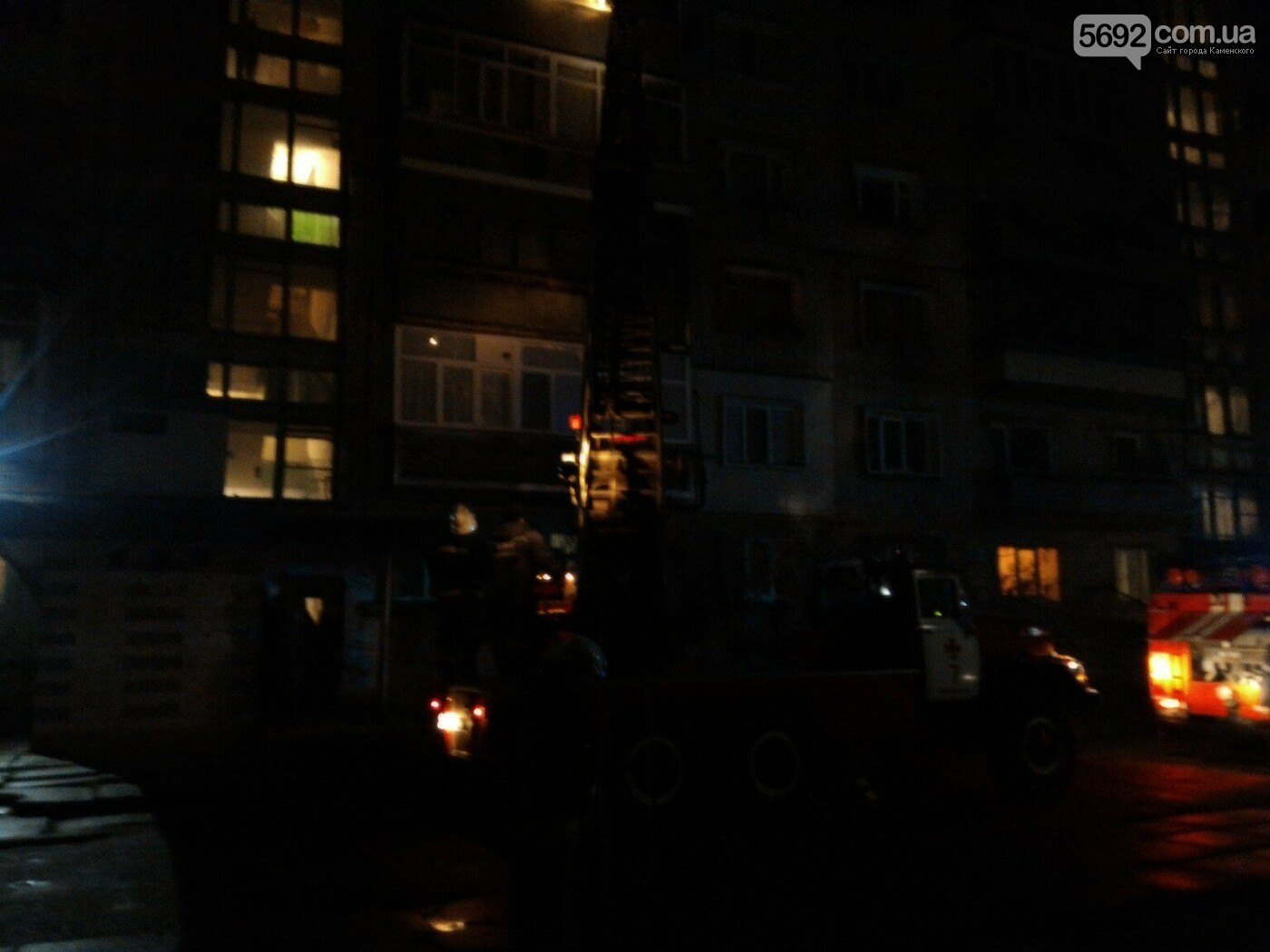 В Каменском из-за петарды едва не начался квартирный пожар, фото-2