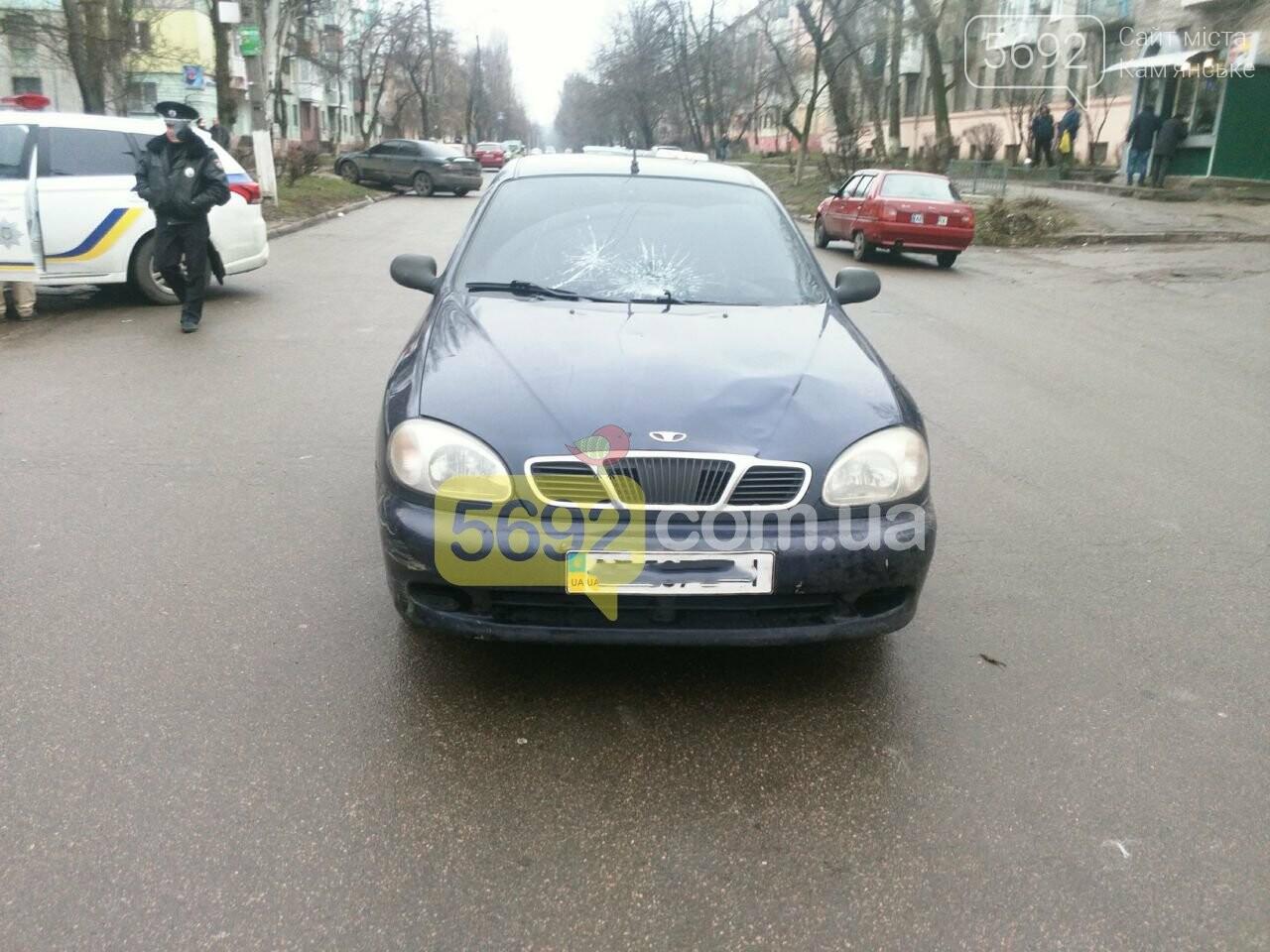 В Каменском таксист сбил пешехода, фото-2
