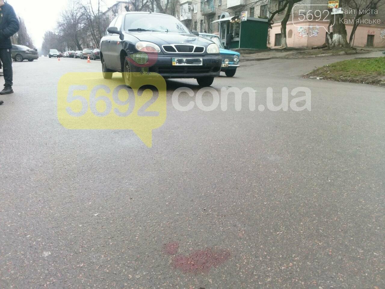 В Каменском таксист сбил пешехода, фото-3