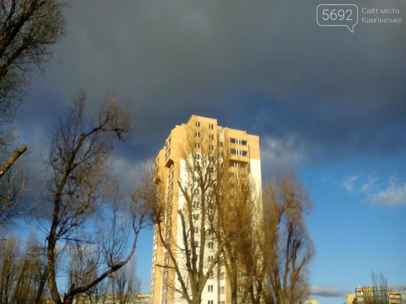 Вопреки прогнозам: в Каменское пришла весенняя погода, фото-7
