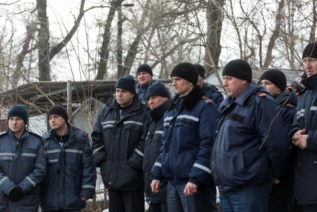 В Каменском «спасали» провалившихся под лед, фото-6