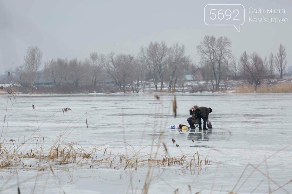 В Каменском «спасали» провалившихся под лед, фото-11