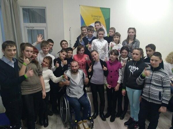 Воспитанникам каменского УВК «Гармония» встретились с известным путешественником, фото-2