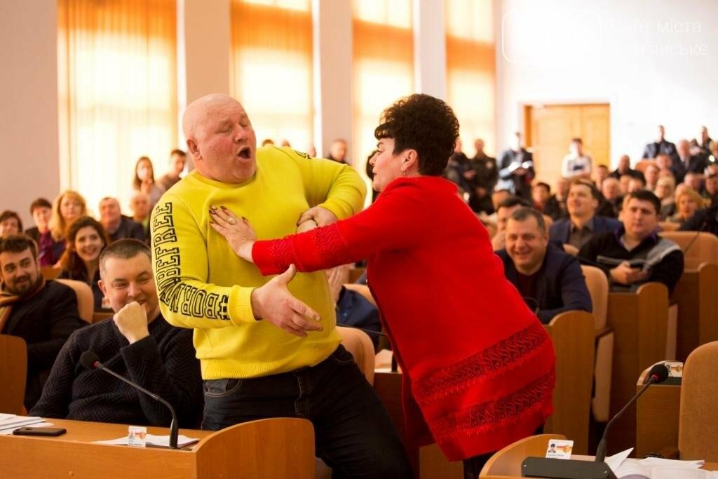 Нашла коса на камень: в Каменском горсовете подрались депутаты, фото-2