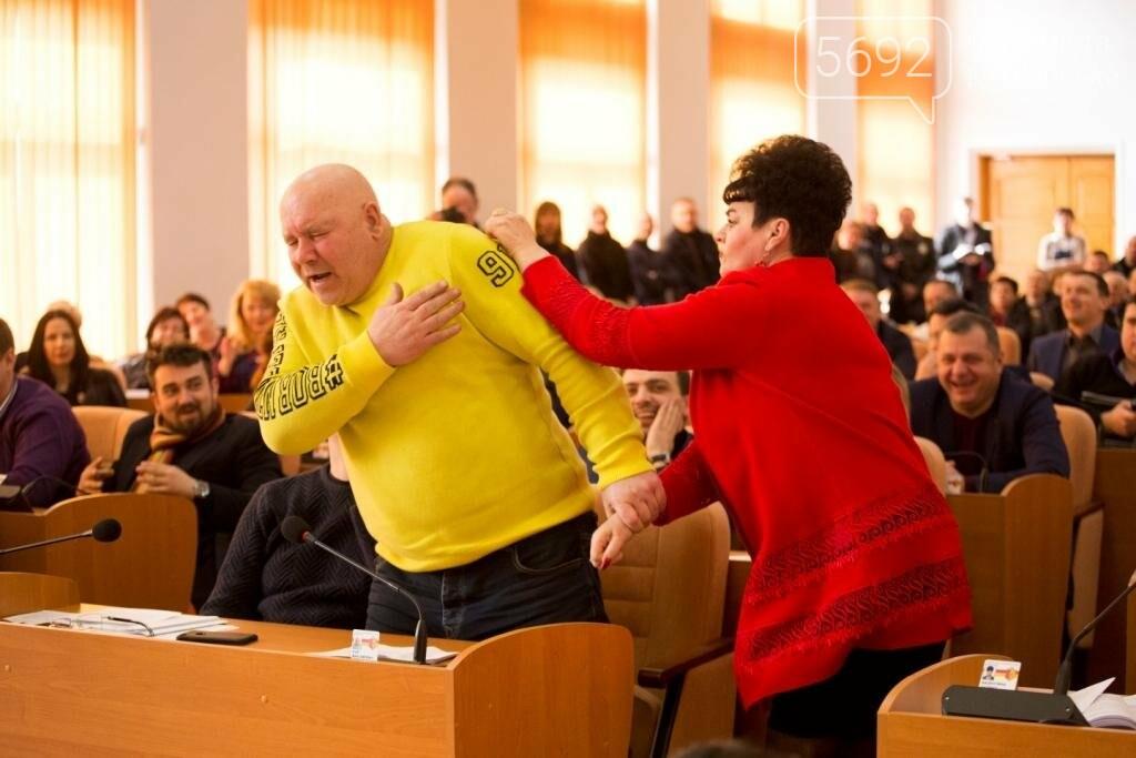 Нашла коса на камень: в Каменском горсовете подрались депутаты, фото-6