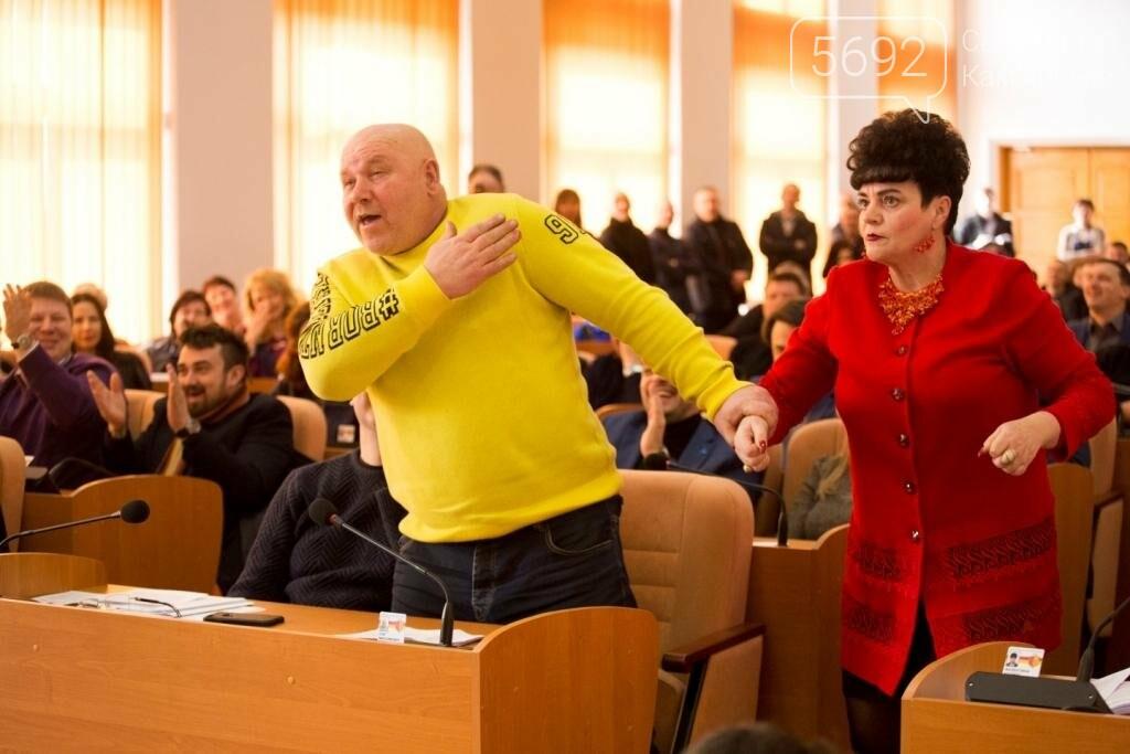 Нашла коса на камень: в Каменском горсовете подрались депутаты, фото-7