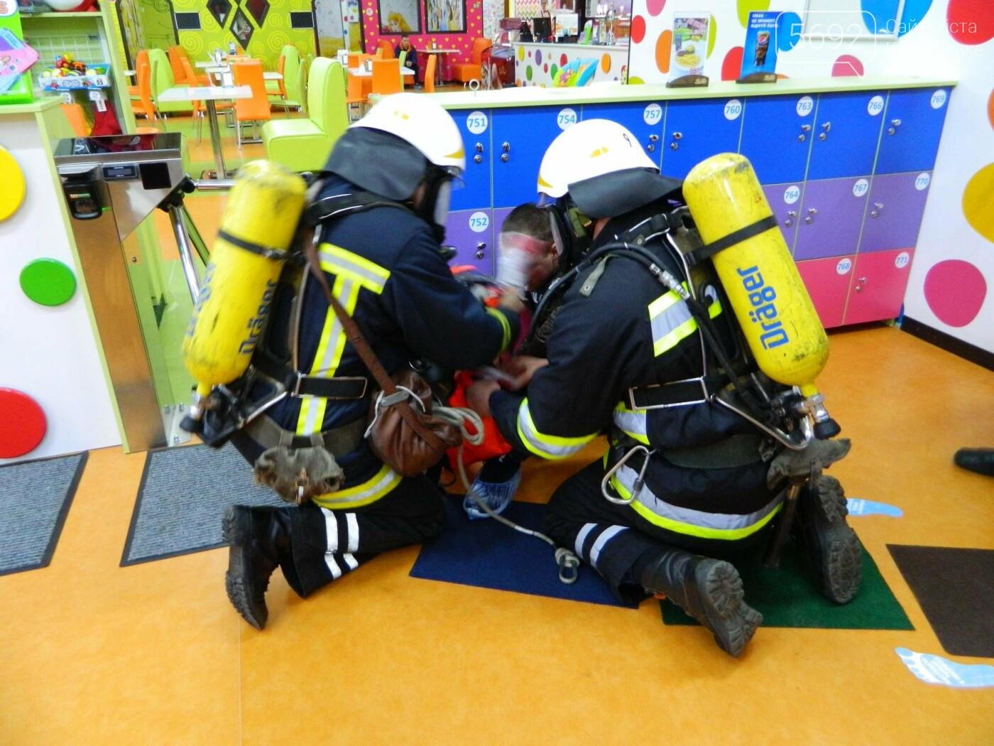 В ТРЦ TERRA спасатели ликвидировали условный пожар, фото-2