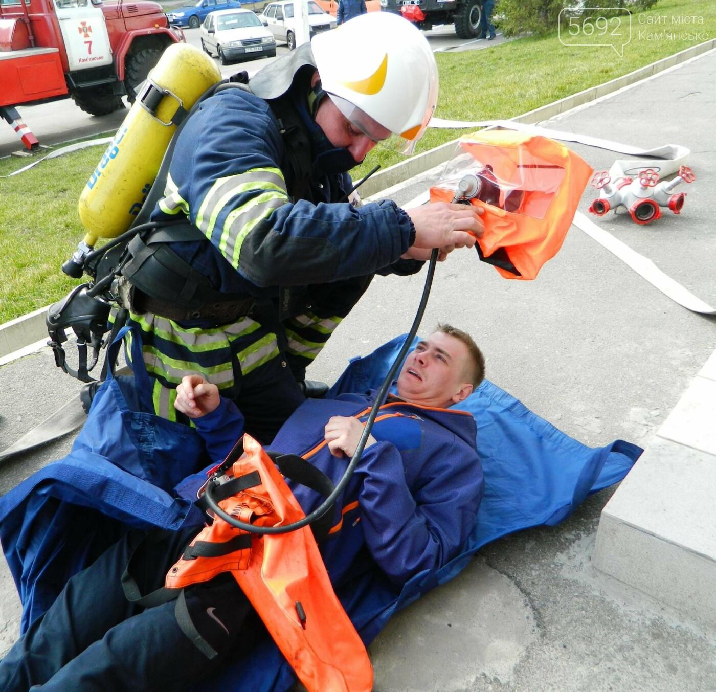 В ТРЦ TERRA спасатели ликвидировали условный пожар, фото-4