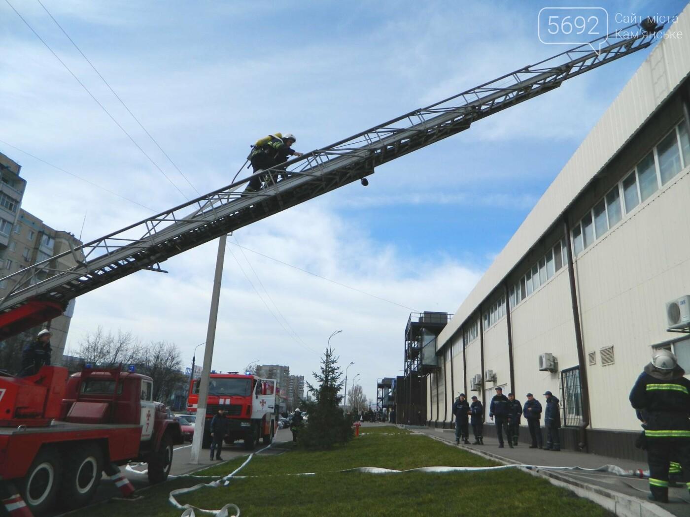 В ТРЦ TERRA спасатели ликвидировали условный пожар, фото-8