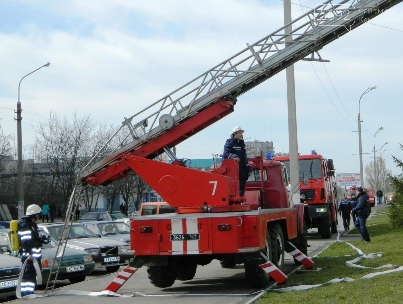 В ТРЦ TERRA спасатели ликвидировали условный пожар, фото-1