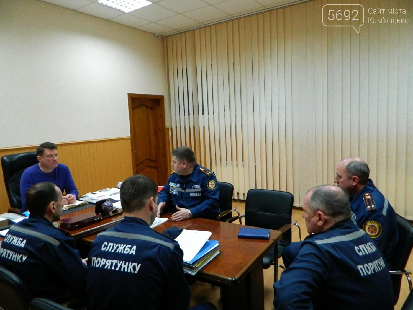 Спасатели Каменского внепланово проверили ТРК «ЦУМ», фото-2