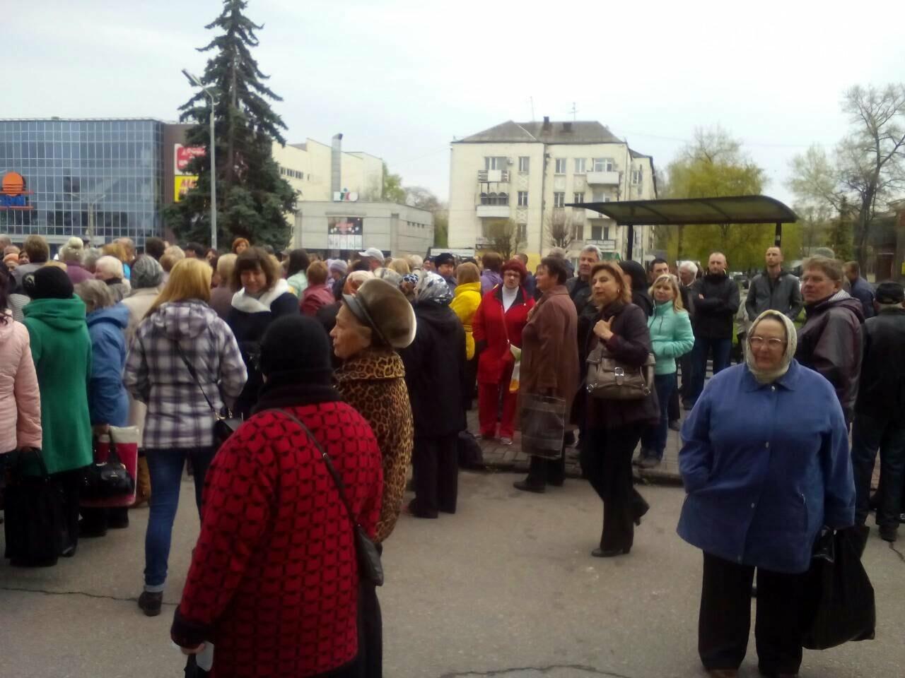 «Тарифный бунт» начался: в Каменском стартовал митинг против повышения тарифов УКОЖФ, фото-1