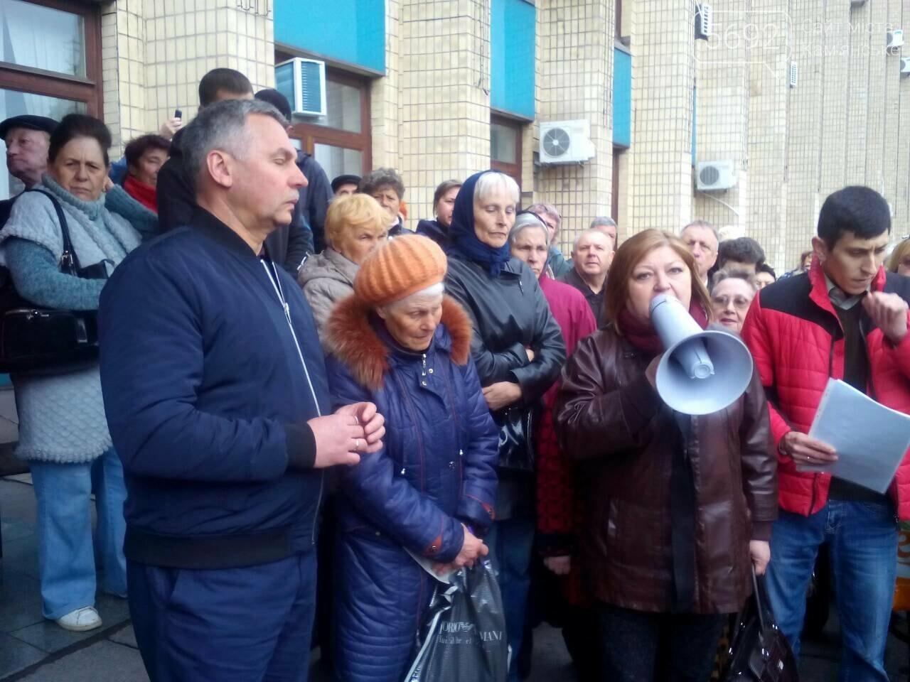 «Тарифный бунт» начался: в Каменском стартовал митинг против повышения тарифов УКОЖФ, фото-5