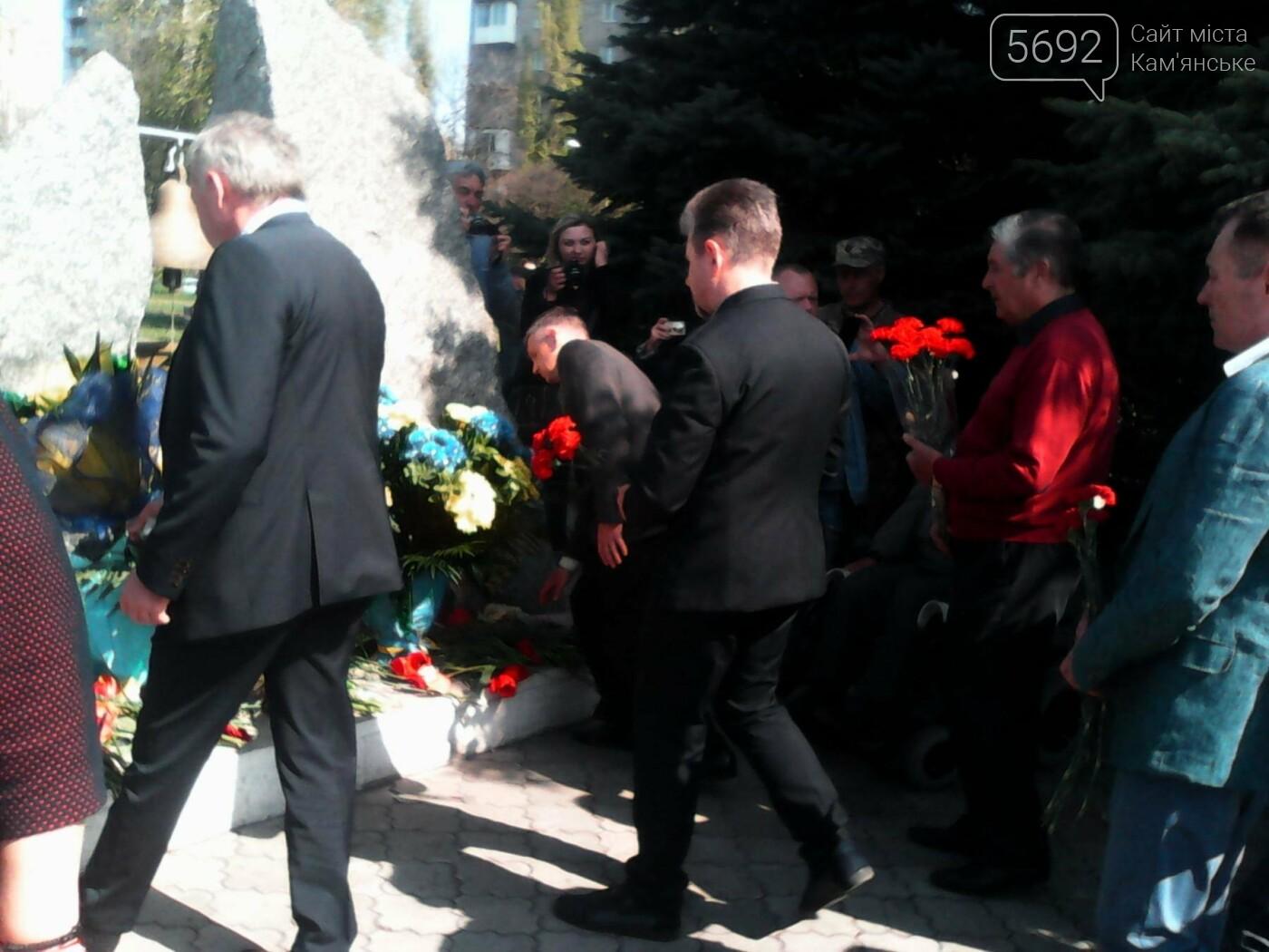 В Каменском вспомнили о тех, кто спас весь мир от последствий трагедии на ЧАЭС, фото-2
