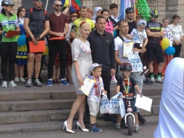 Велодень в Каменском: соревновались в креативности и поднимали флаг ЕС, фото-8