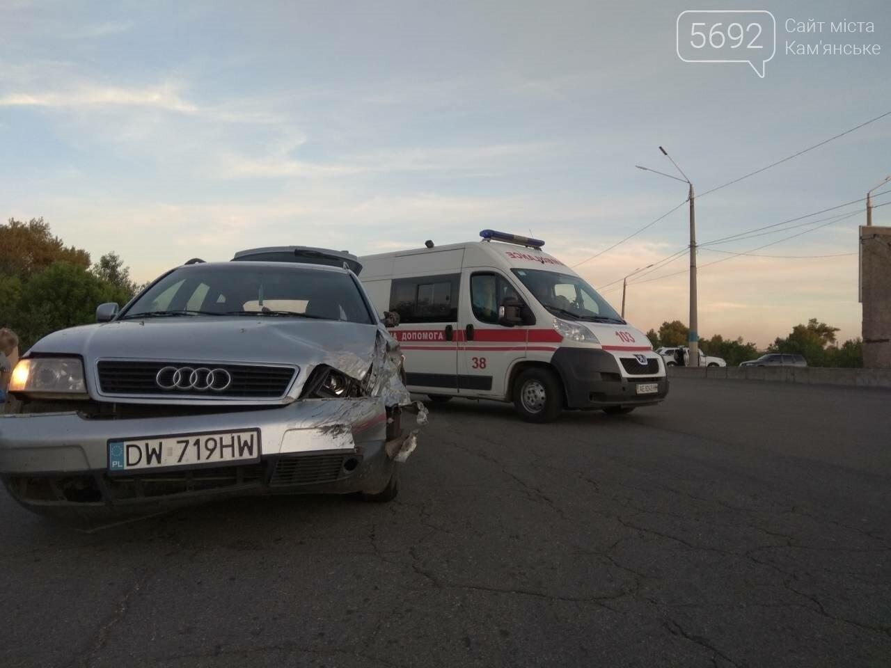 В Каменском столкнулись Ауди и ВАЗ, фото-4