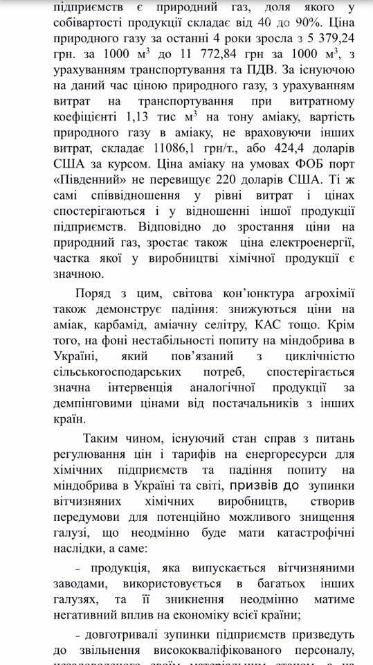 Депутаты Каменского обратились в Кабмин с просьбой возобновить работу «ДнепрАзота», фото-2