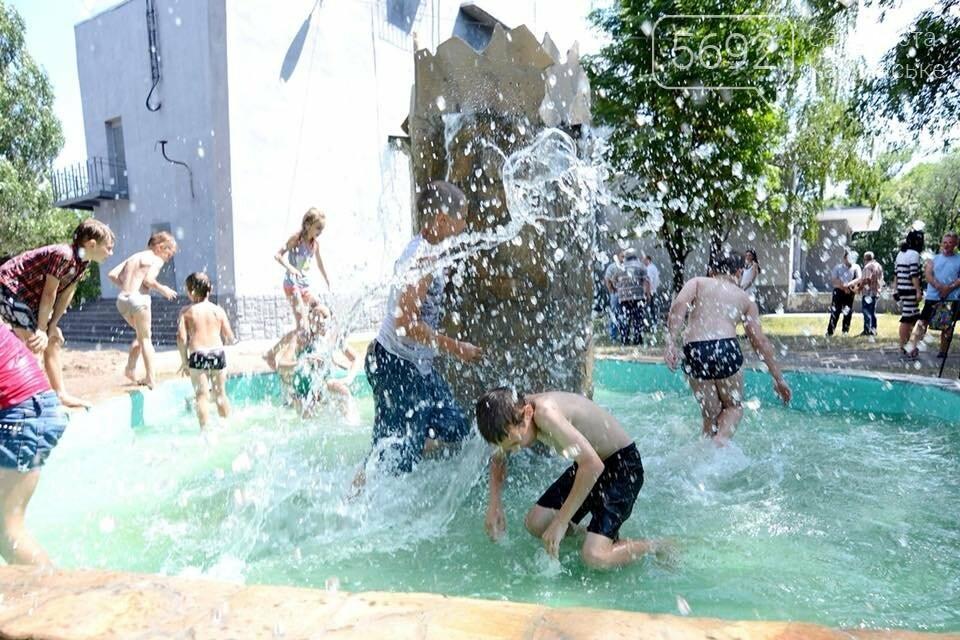 В Южном районе Каменского запустили новый фонтан, фото-2