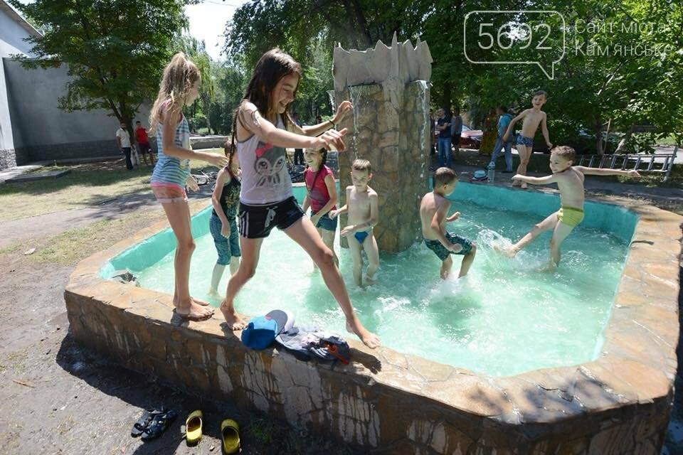 В Южном районе Каменского запустили новый фонтан, фото-7
