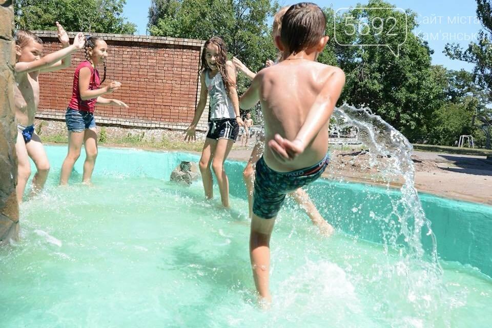В Южном районе Каменского запустили новый фонтан, фото-8