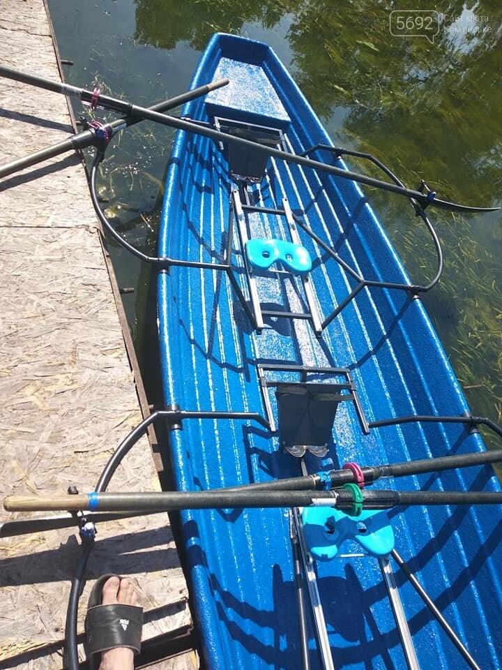 У «академистов» из каменской ДЮСШ №1 новая лодка, фото-7