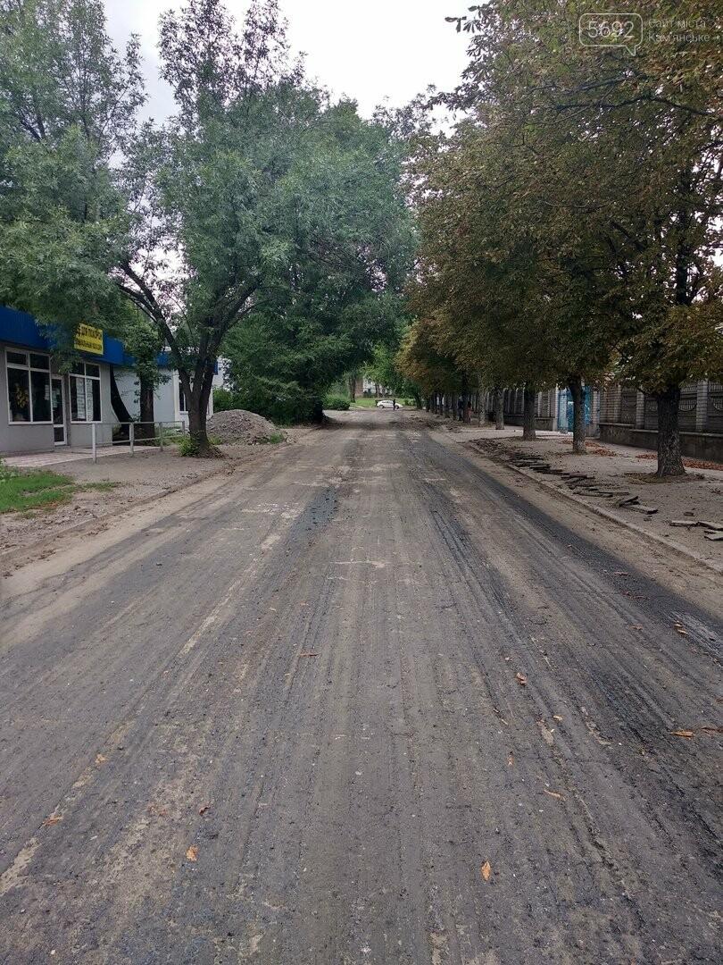 В Каменском капитально ремонтируют улицу, фото-4