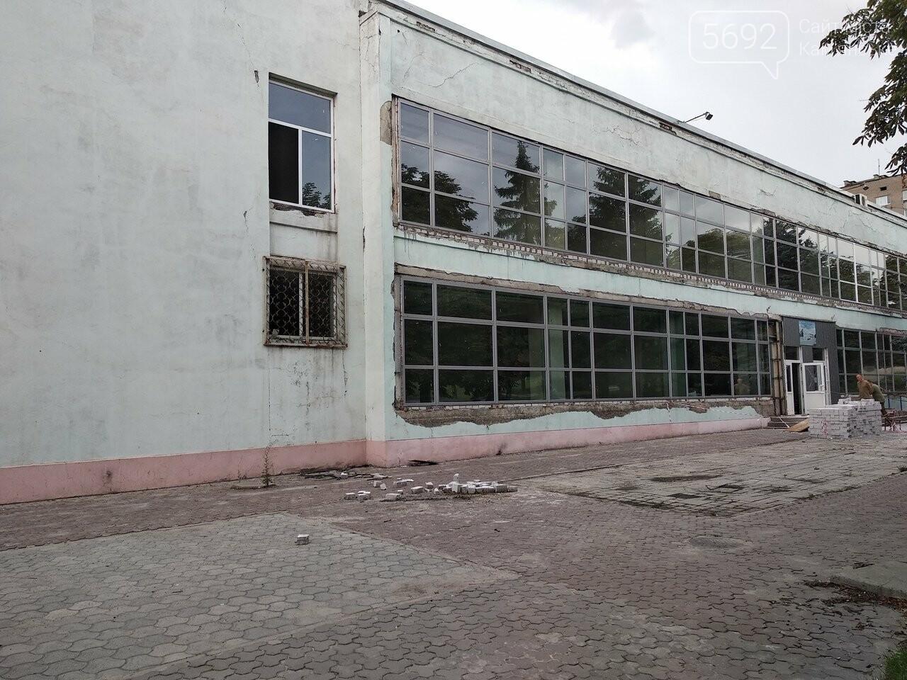 В Каменском на СК «Прометей» продолжается реконструкция, фото-5