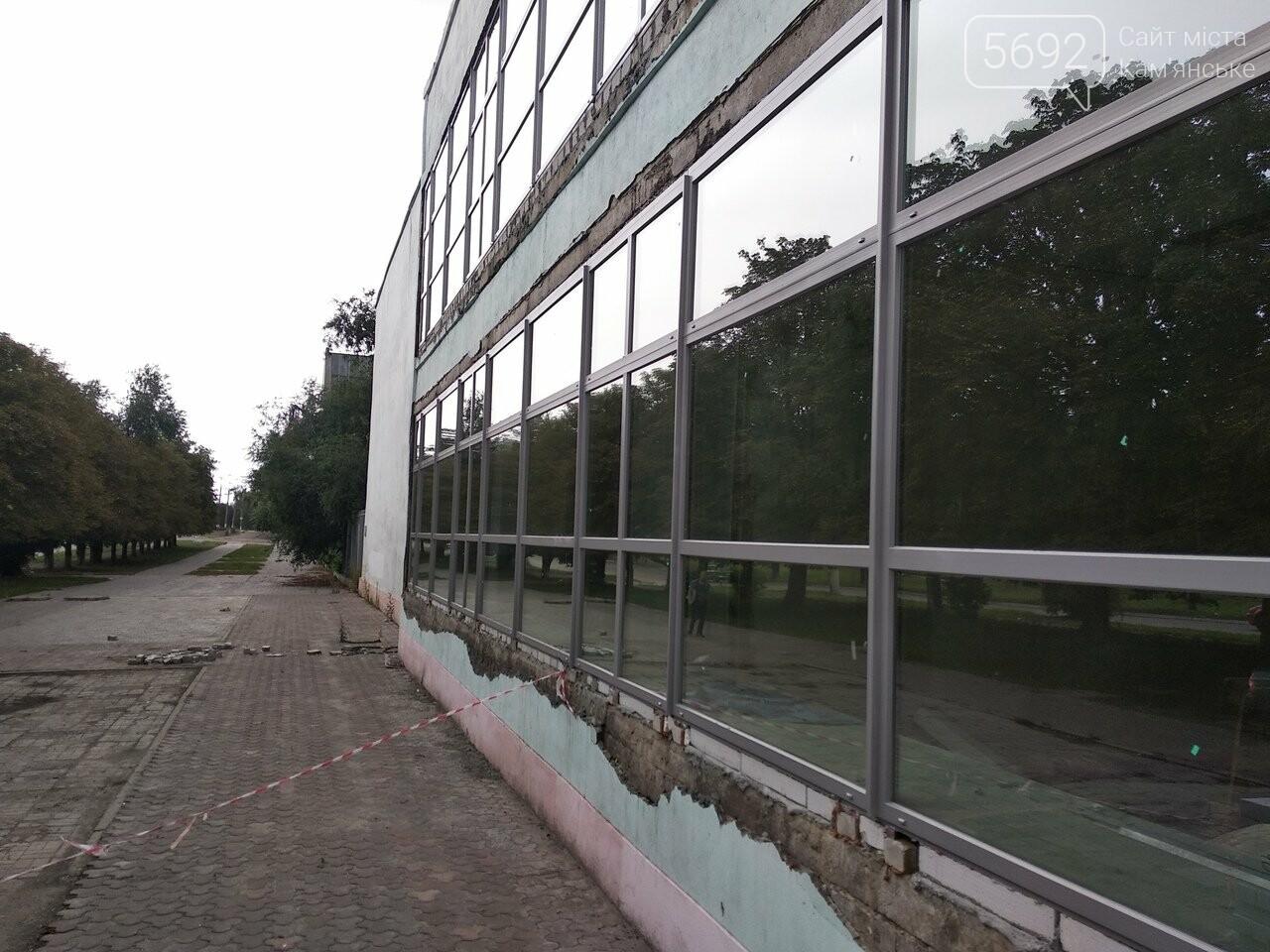 В Каменском на СК «Прометей» продолжается реконструкция, фото-7