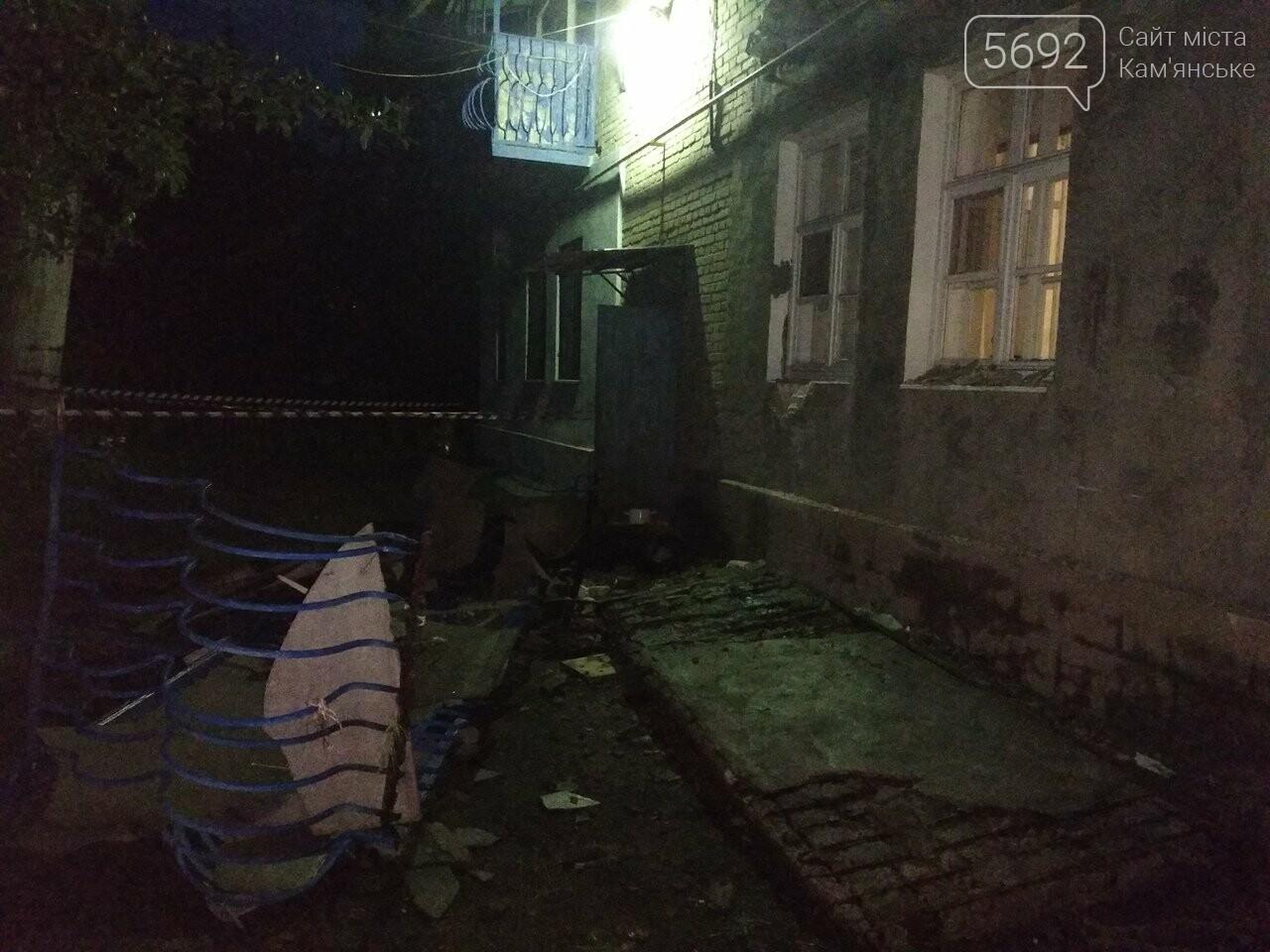 В Каменском упал балкон: есть пострадавшие, фото-4