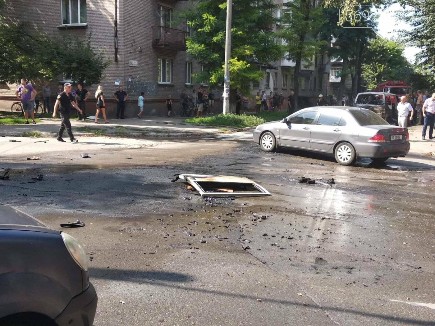В Каменском ЧП: взорвался автомобиль с депутатом горсовета, фото-9