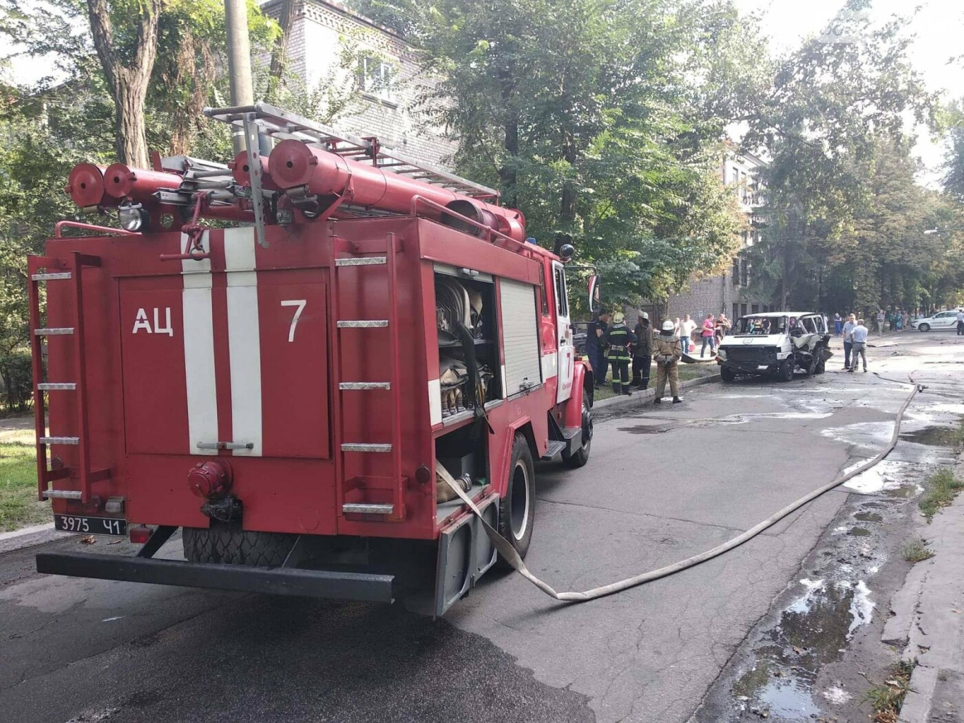 В Каменском ЧП: взорвался автомобиль с депутатом горсовета, фото-10