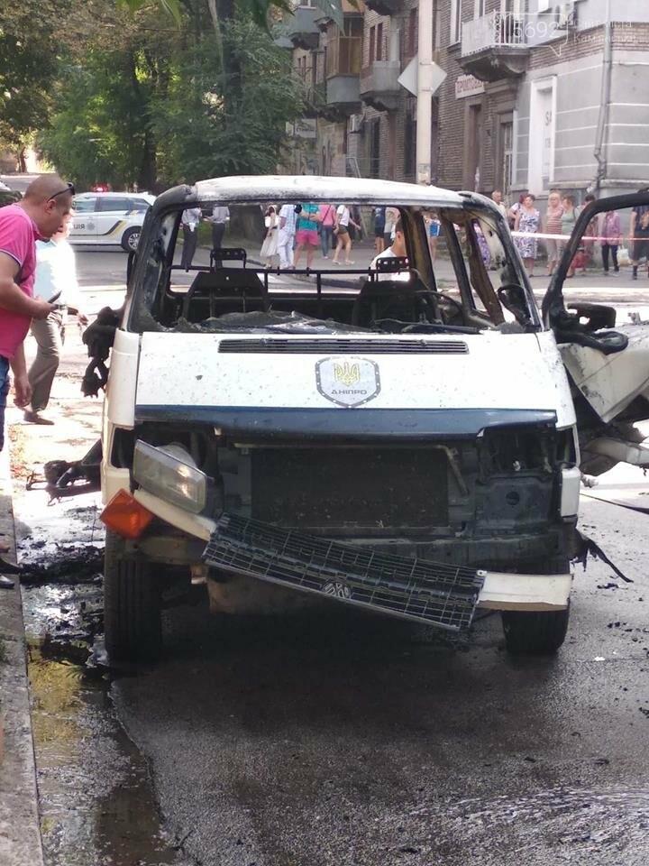В Каменском ЧП: взорвался автомобиль с депутатом горсовета, фото-1