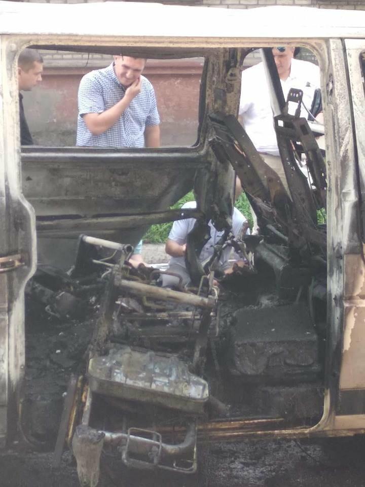 В Каменском ЧП: взорвался автомобиль с депутатом горсовета, фото-2