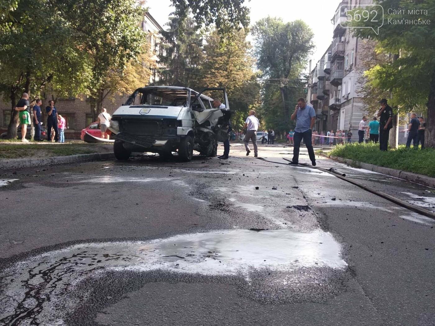 В Каменском ЧП: взорвался автомобиль с депутатом горсовета, фото-14