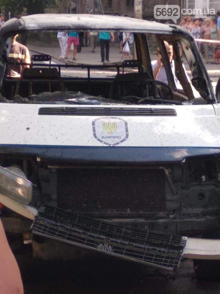 В Каменском ЧП: взорвался автомобиль с депутатом горсовета, фото-3