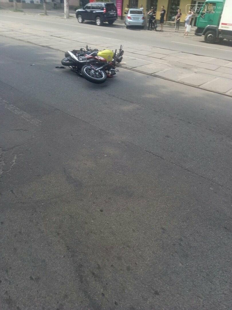 ДТП в Каменском: столкнулись два мотоцикла, фото-2