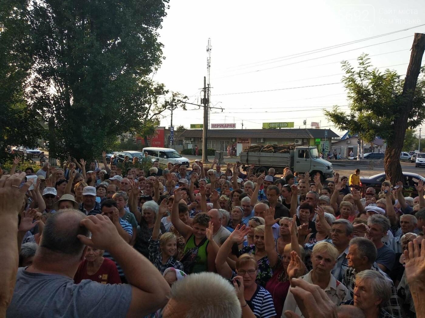 В Романково прошла массовая акция каменчан против газовщиков, фото-2