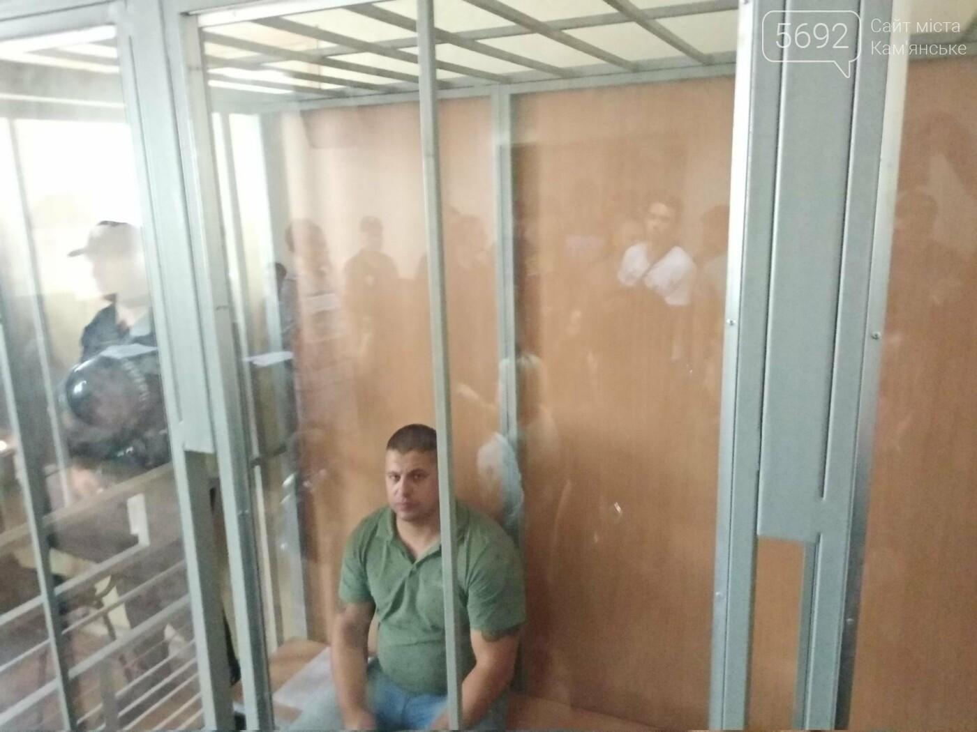 Дело об избиении врача: в Каменском за хулиганство суд избрал меру пресечения для Евгения Найды, фото-3