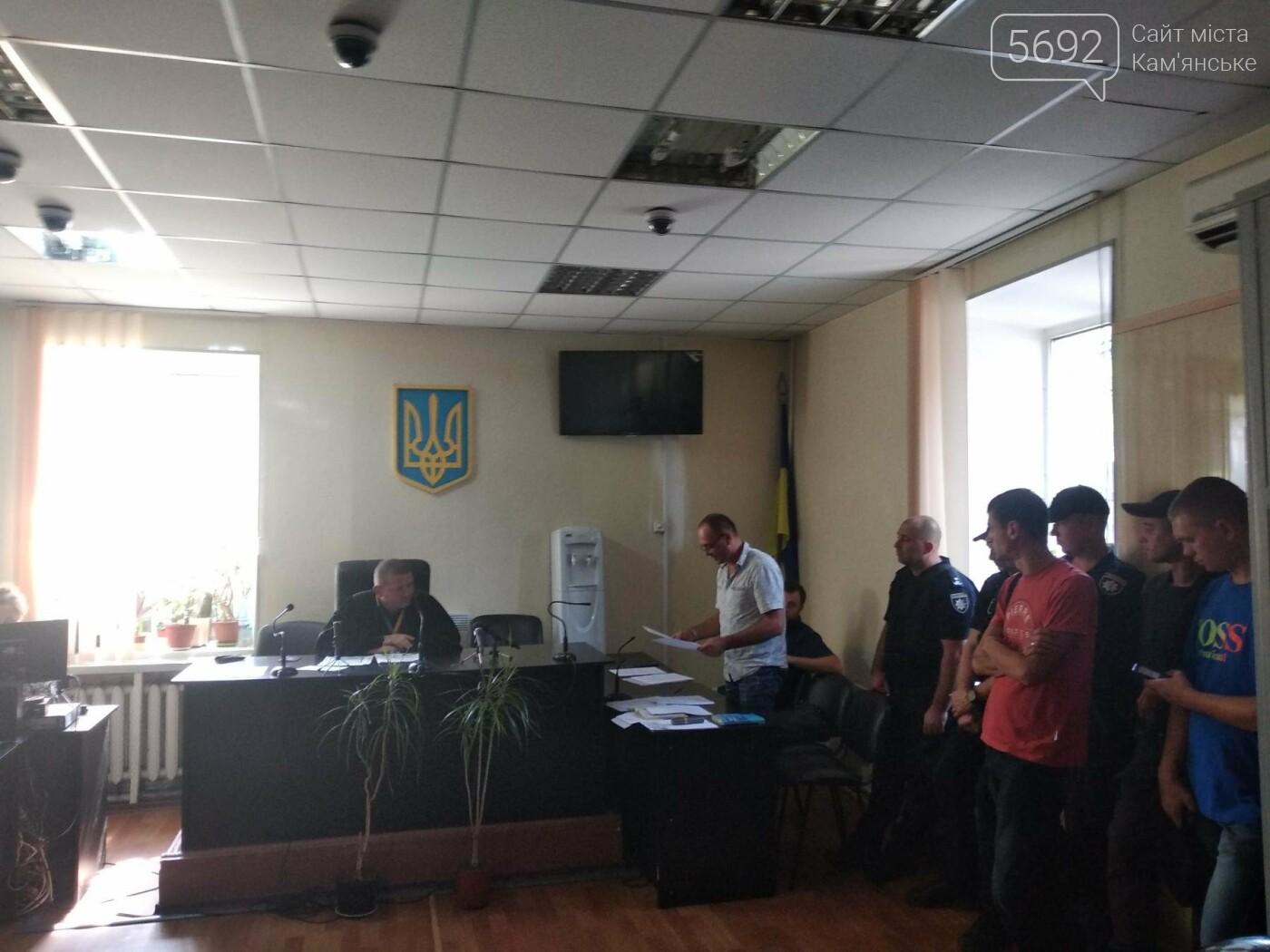 Дело об избиении врача: в Каменском за хулиганство суд избрал меру пресечения для Евгения Найды, фото-7