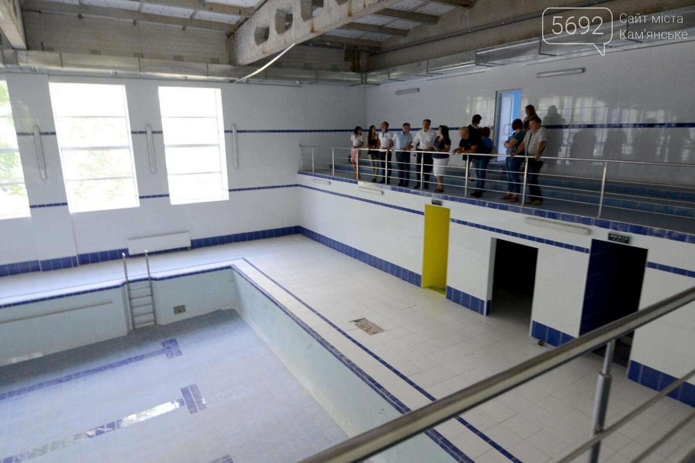 В Каменском завершают ремонт бассейна в лицее №15, фото-4