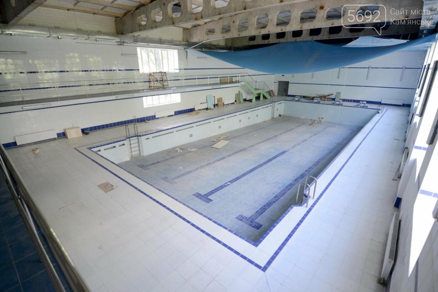 В Каменском завершают ремонт бассейна в лицее №15, фото-1