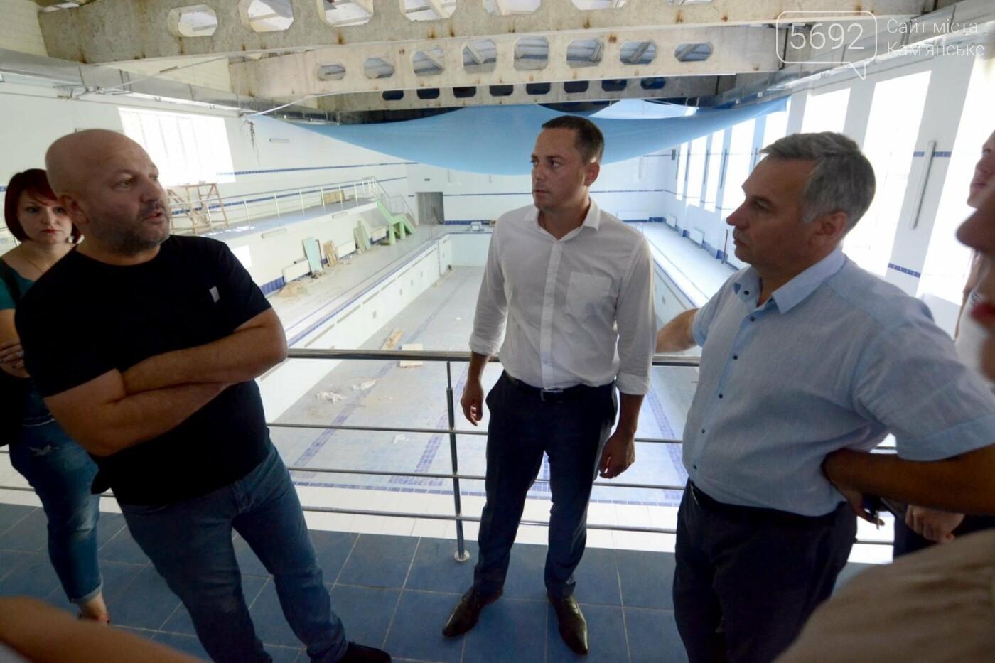 В Каменском завершают ремонт бассейна в лицее №15, фото-2