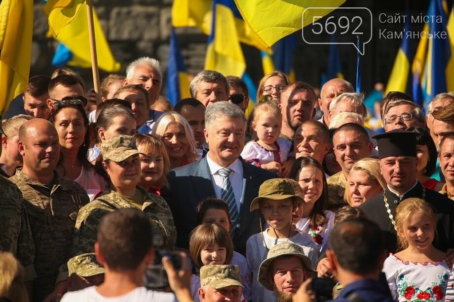 Над Днепром взвился самый большой флаг Украины, фото-8