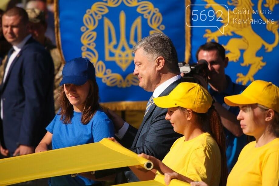 Над Днепром взвился самый большой флаг Украины, фото-7