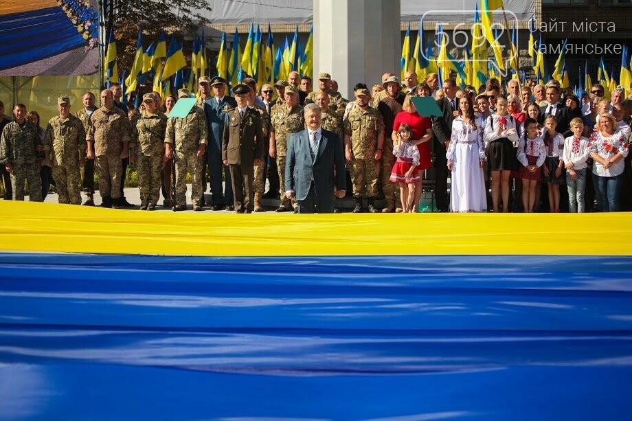 Над Днепром взвился самый большой флаг Украины, фото-9