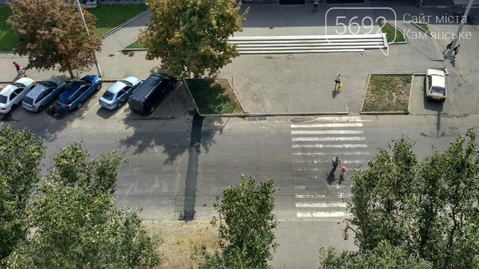 На левобережье Каменского появился «лежачий полицеский», фото-1