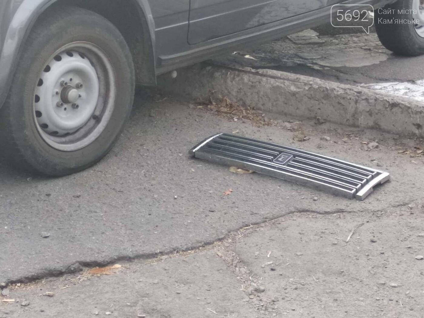 ДТП в Каменском: на аварийно-опасном перекрестке столкнулись два автомобиля, фото-4