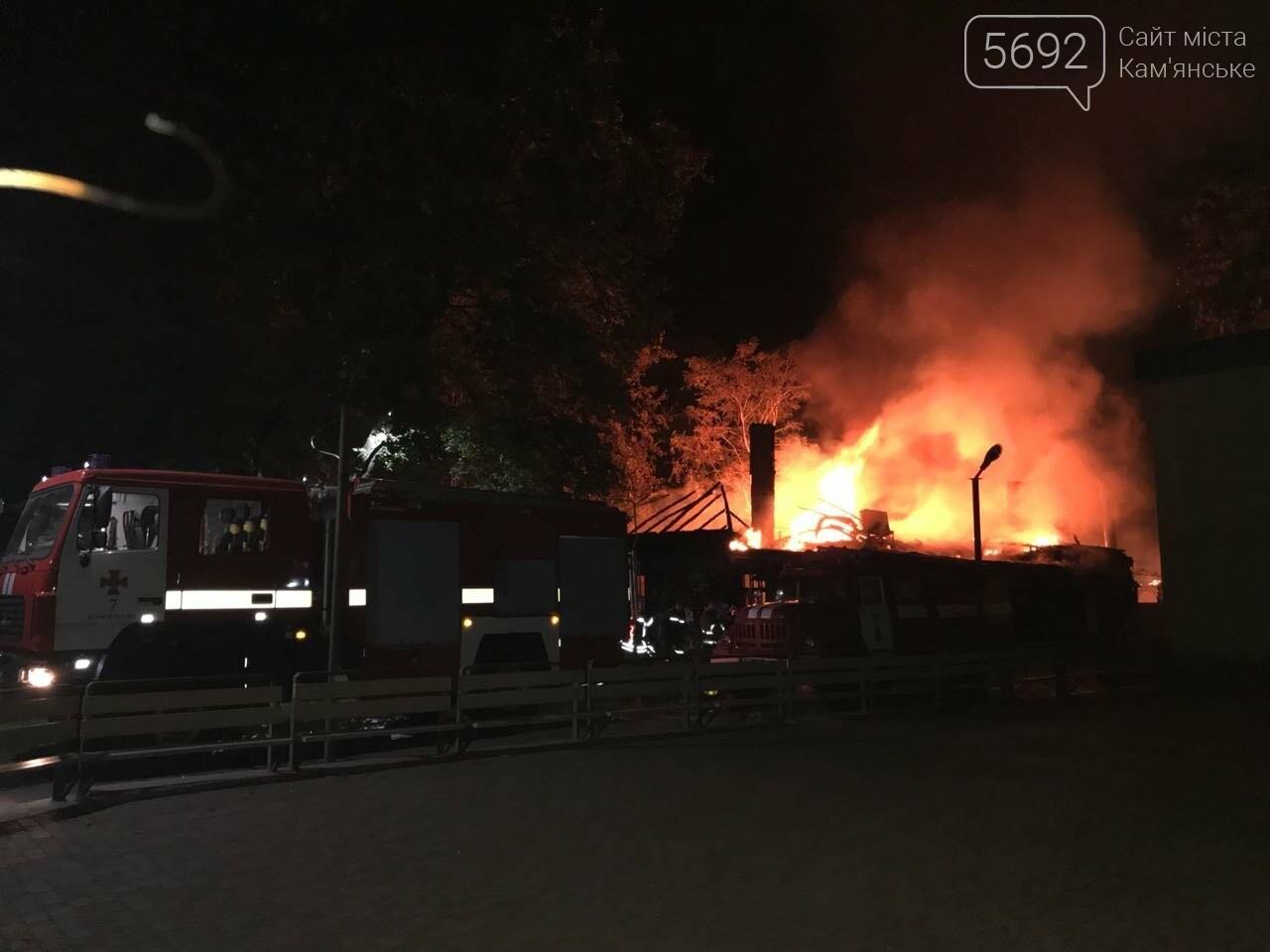 В Каменском подожгли кафе «Каменская реберня», фото-2